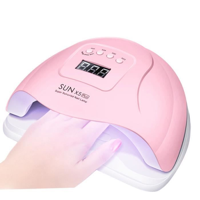 Vente chaude sunx5puls lampe à ongles vernis à ongles colle photothérapie machine LED sèche-induction intelligent
