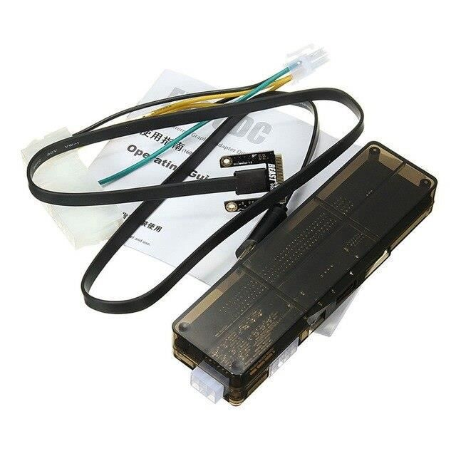 W1801 Professionnel V8.0 EXP GDC bête ordinateur portable externe indépendant carte vidéo Dock Mini PCI E carte graphique pour ordin