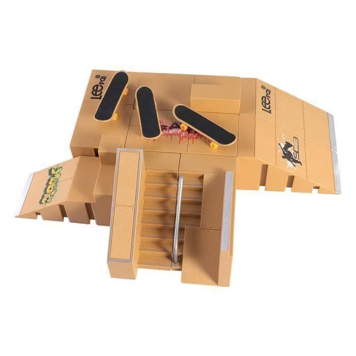 AA 1 Set Planche À Patiner Parc En Plastique Portable Durable Alliage JEU D'ASSEMBLAGE - JEU DE CONSTRUCTION - JEU DE MANIPULATION