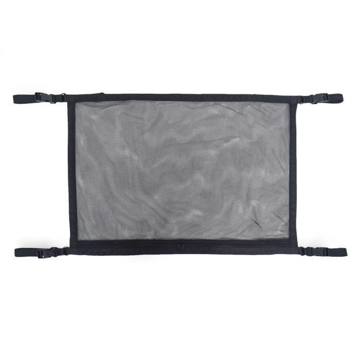 Rangement,Filet de rangement universel pour plafond de voiture, filet de rangement pour intérieur, toit de voiture - Type 1 black