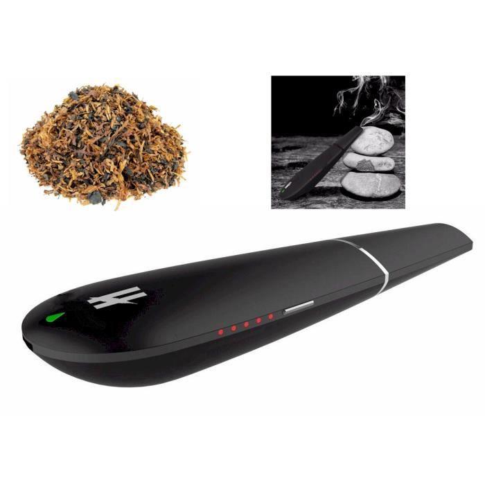 BLK Vaporisateur du vrai tabac Chichas électronique