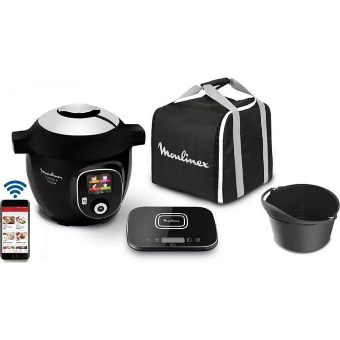 Moulinex Cookeo - Multicuiseur Cookeo Cookeo+ Mega Connect + kit moule et sac