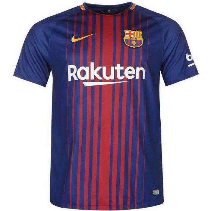 Nouveau Maillot Homme Nike Saison 2017-2018 FC Barcelone