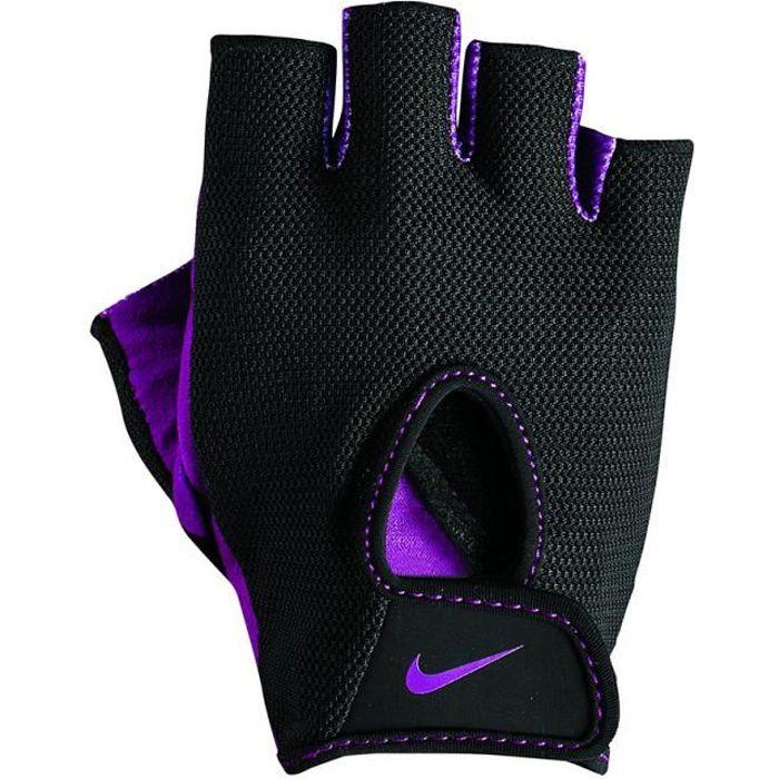 Gants d'entraînement Nike Women's Fundamental Training II noir lilas femme