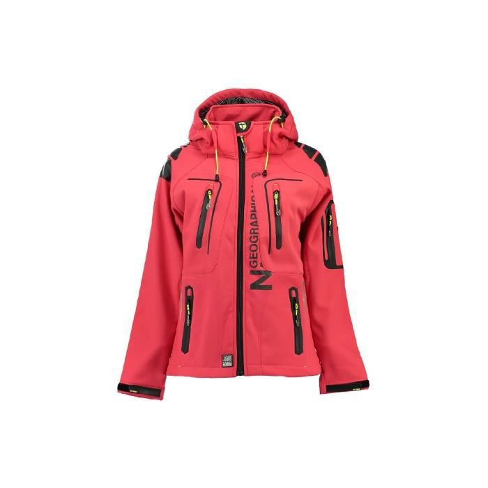 Softshell Femme Geographical Norway Tehila Orange