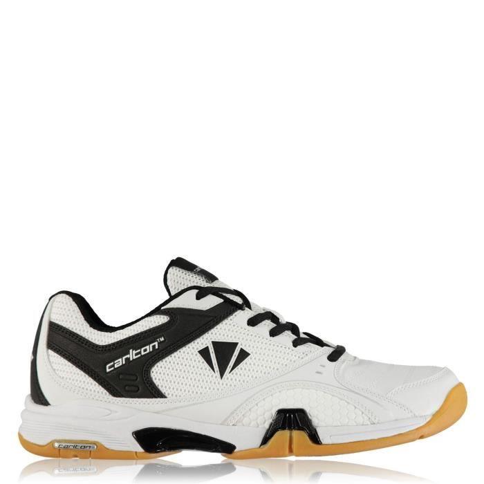 Carlton Hommes Chaussures De Sport Badminton Blanc