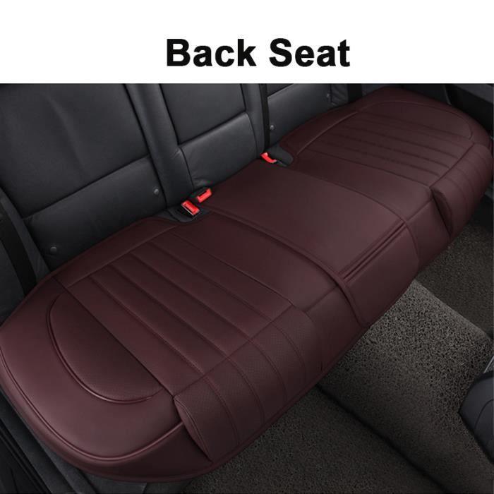 Housse de siege voiture Marron - Doux au toucher - imperméable housse de siège arrière