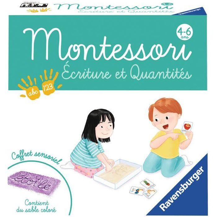 Montessori - Ecriture et quantités