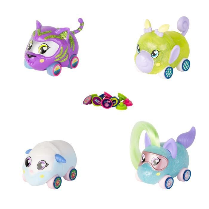 TOMY Ritzy Rollerz - Pack de 4 personnages
