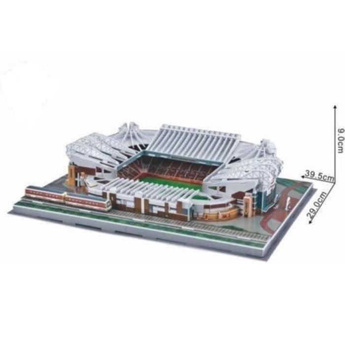 PUZZLE Old Trafford Stadium Modèle Jigsaw Puzzle 3D Footb