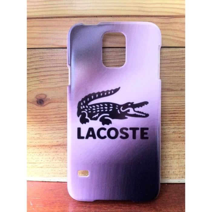 coque lacoste samsung galaxy s5 neuf achat coque. Black Bedroom Furniture Sets. Home Design Ideas