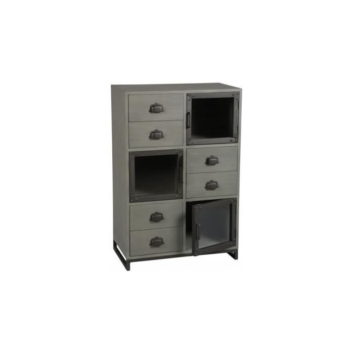 meuble rangement industriel conceptions de maison. Black Bedroom Furniture Sets. Home Design Ideas