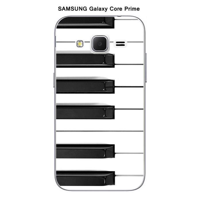 Coque Samsung Galaxy Core Prime Piano