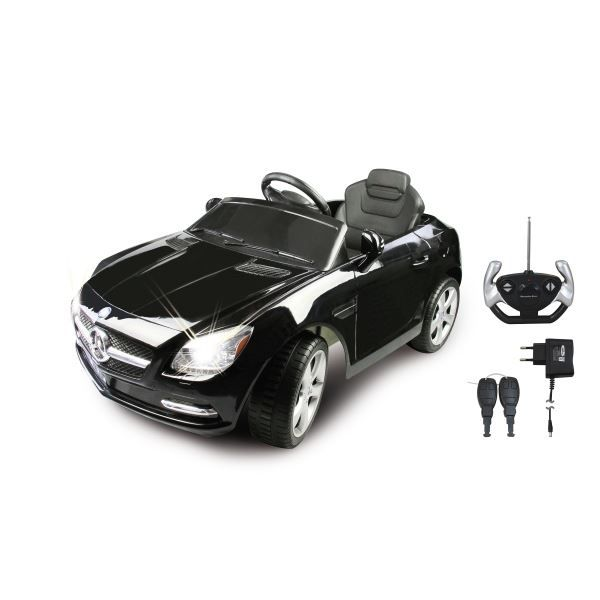 voiture electrique mercedes slk noire 40 mhz achat vente quad kart buggy cdiscount. Black Bedroom Furniture Sets. Home Design Ideas