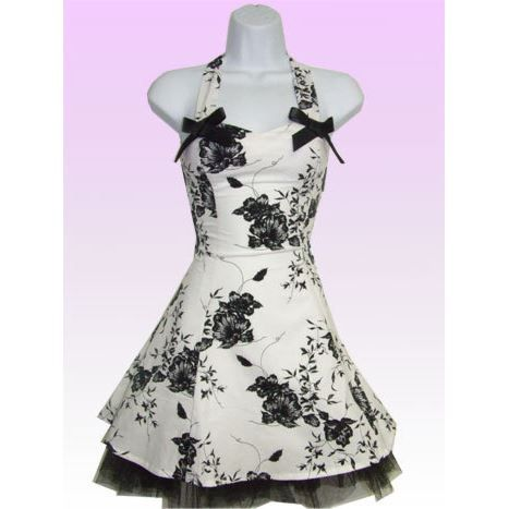robe rockabilly blanche fleurs n blanc achat vente robe cdiscount. Black Bedroom Furniture Sets. Home Design Ideas