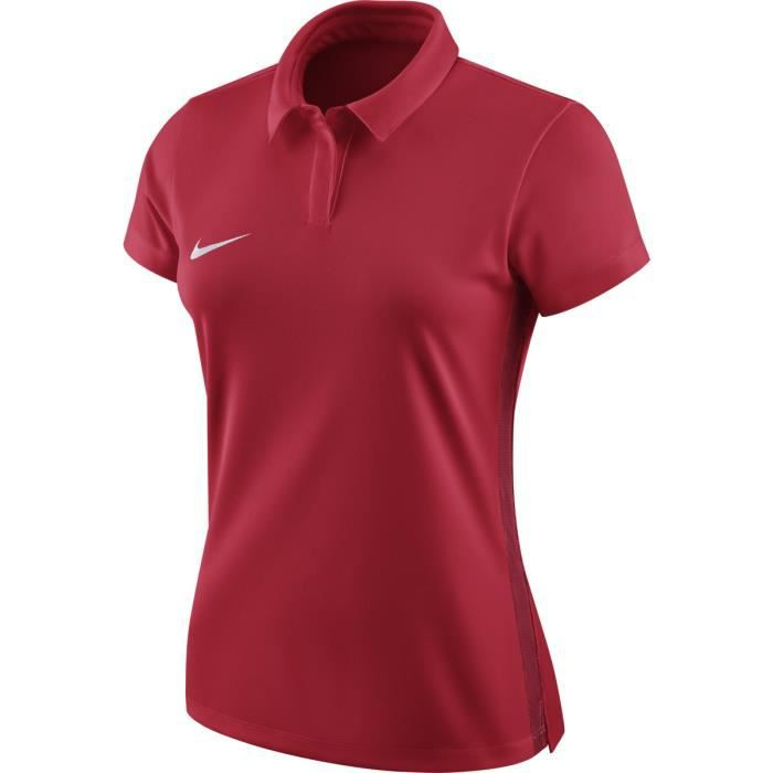 Nike Polo Academy 18 Pour Femme Rouge Rouge Achat Vente T Shirt