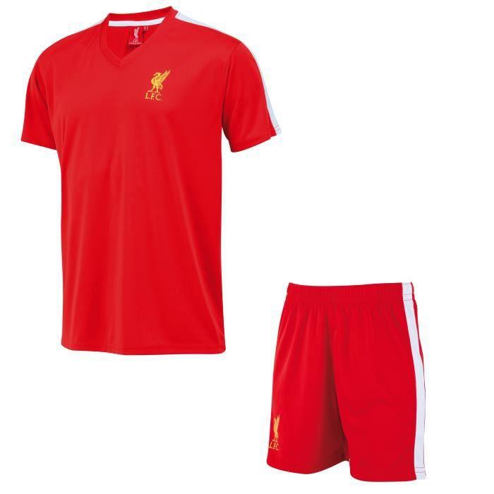 Liverpool FC Ensemble Court De La Tenue 19//20 B/éb/é LFC Officiel