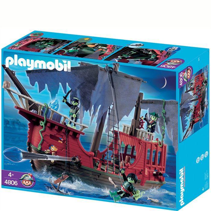 UNIVERS MINIATURE Playmobil Bateau des pirates fantômes
