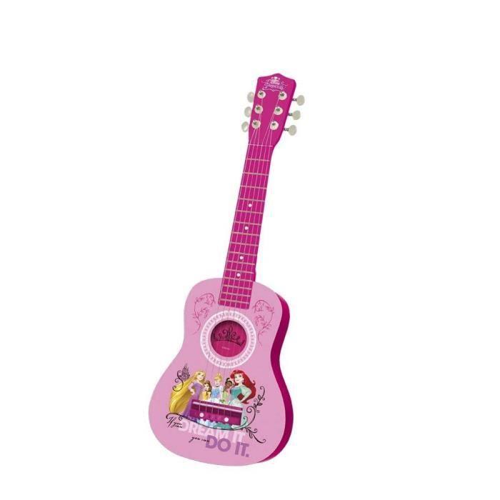 INSTRUMENT DE MUSIQUE DISNEY PRINCESSE Guitare espagnole - 65 cm