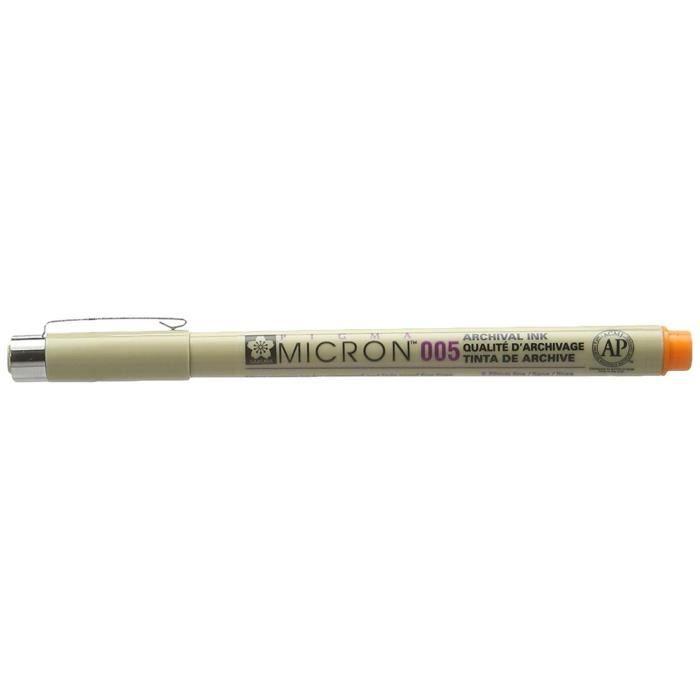FEUTRES Feutre Fineliner PIGMA MICRON 005 Tracé 0,02 mm Or