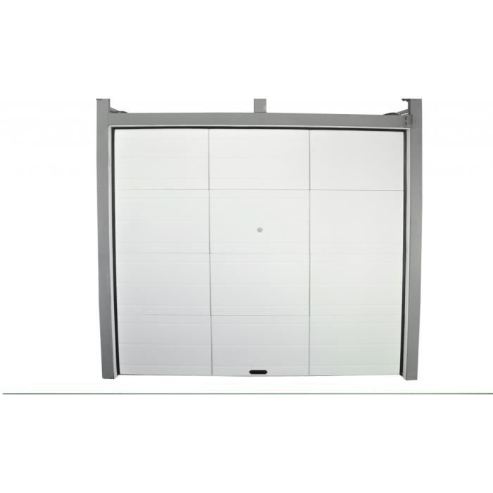 Porte de garage sectionnelle 250 x 212 x 4cm achat for Achat porte garage sectionnelle