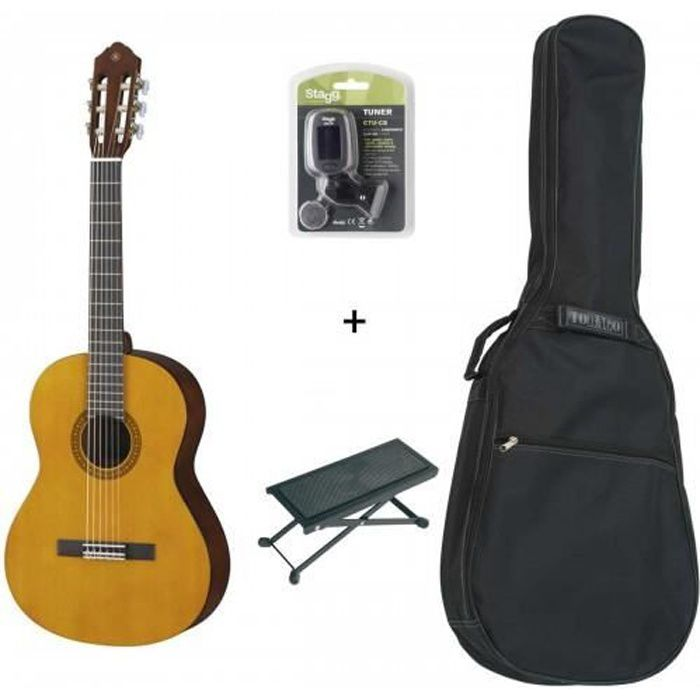 pack yamaha cs40 3 4 guitare classique 3 4 accordeur. Black Bedroom Furniture Sets. Home Design Ideas