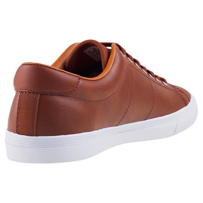 Fred Perry Underspin Hommes Baskets Marine - 10 UK E6PDY4I2a2