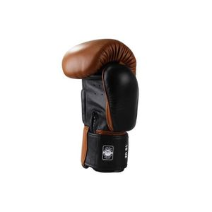 8 oz Dorawon Vintage Gants de Boxe Cuir Competition Mixte Enfant Marron