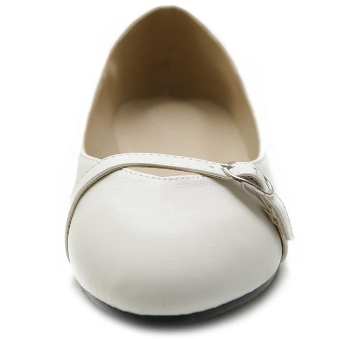 Ballet Shoe bout rond Mary Jane Flat I30HD Taille-39