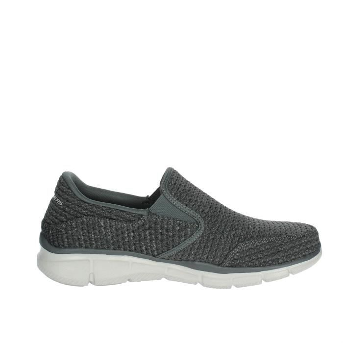 Skechers Slip-on Chaussures Homme Gris, 40