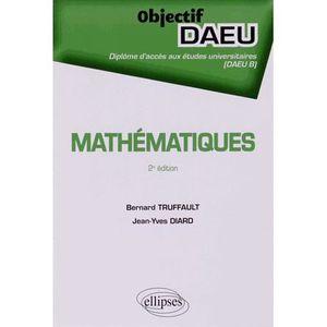 MANUEL UNIVERISTAIRE Mathématiques DAEU B