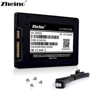 DISQUE DUR SSD Zheino SSD 240 Go SSD A3 2,5 TLC pouces Sata III 3
