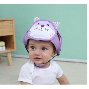 CASQUE ENFANT Chat-Casque Bébé Anti-Chute, Bonnet Bébé de Sécuri