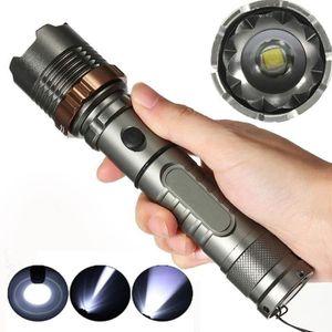 LAMPE DE POCHE Lampe torche rechargeable à LED, puissante d'une p
