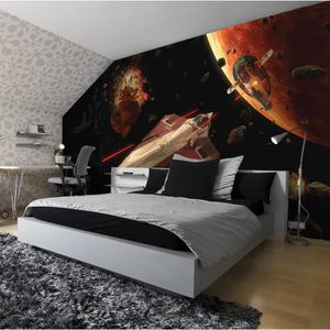 papier peint star wars achat vente papier peint star wars pas cher cdiscount. Black Bedroom Furniture Sets. Home Design Ideas