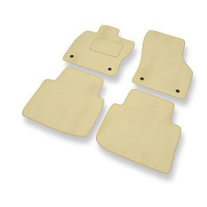 velour beige Nouveau Tapis De Sol VW Phaéton à partir de 2003 TUNING Accessoires Habitacle 4x