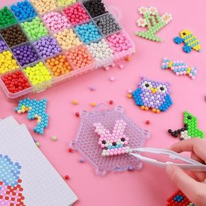 3000 Perles à Repasser Pastel