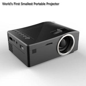 Vidéoprojecteur Full HD 1080 P Mini Projecteur TV Multi-Media Play
