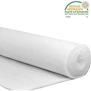 OUATE OUATE POLYESTER BLANCHE 100G/M2 vendue en metre
