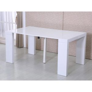 Table extensible achat vente table extensible pas cher for Table extensible quadrato