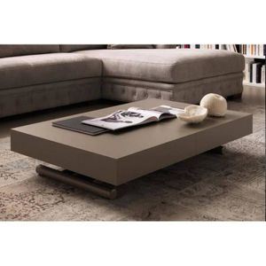 TABLE BASSE Table basse relevable extensible BLOCK design taup