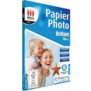 PAPIER IMPRIMANTE Papier imprimante Micro Application Papier Phot…