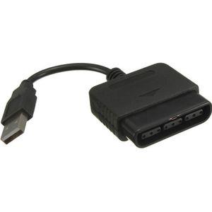 MANETTE JEUX VIDÉO Noir Adaptateur connecteur Manette PS2 sur PS3 PS3