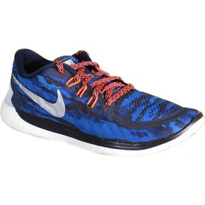 lowest price 53089 8f288 CHAUSSURES MULTISPORT Nike Free 5.0 Print Gs Chaussures de Sport Bleu Cu