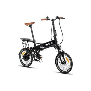 VÉLO ASSISTANCE ÉLEC Moma Bikes Vélo Electrique VAE Pliant De ville + p