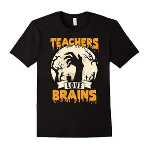 T-SHIRT Les enseignants aiment les cerveaux T-shirt Hallow