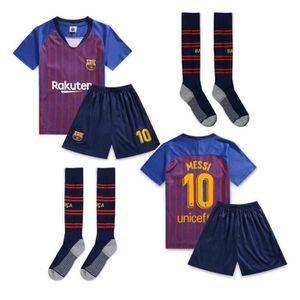 MAILLOT DE FOOTBALL Barca Lionel NO.10 Messi Jersey Maillots et Shorts