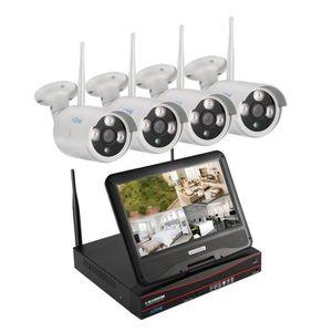 CAMÉRA DE SURVEILLANCE Caméra de surveillance sans fil extérieur avec écr