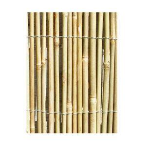 TREILLE - TREILLIS Primrose - Canisse en Canne de Bambou - 4m x 1,8m