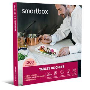 COFFRET SÉJOUR SMARTBOX - Coffret Cadeau - Tables de chefs - 1 me